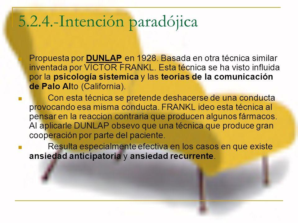 5.2.4.-Intención paradójica