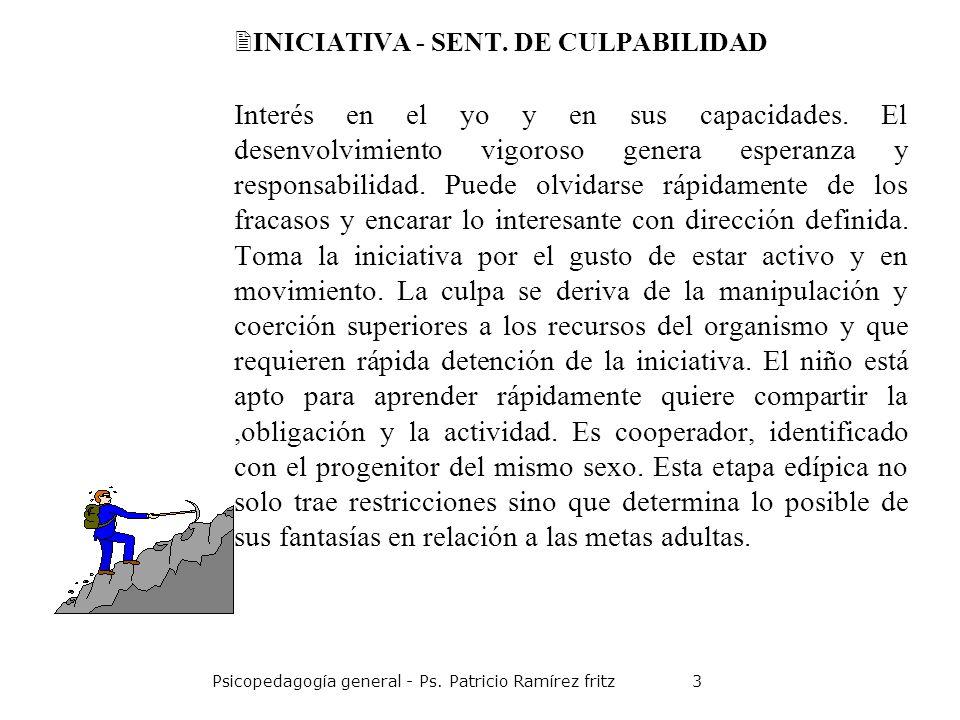 INICIATIVA - SENT. DE CULPABILIDAD