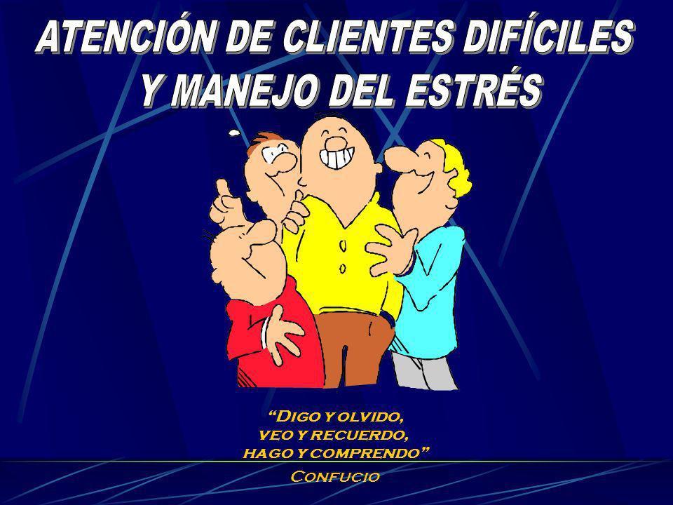 ATENCIÓN DE CLIENTES DIFÍCILES