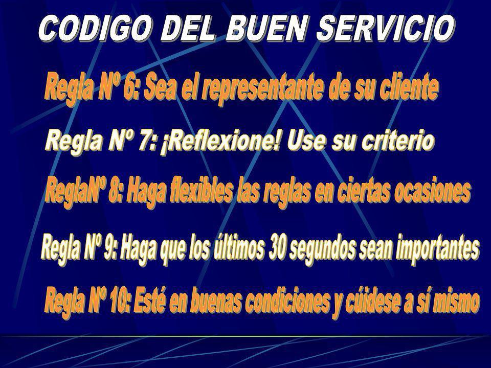 CODIGO DEL BUEN SERVICIO