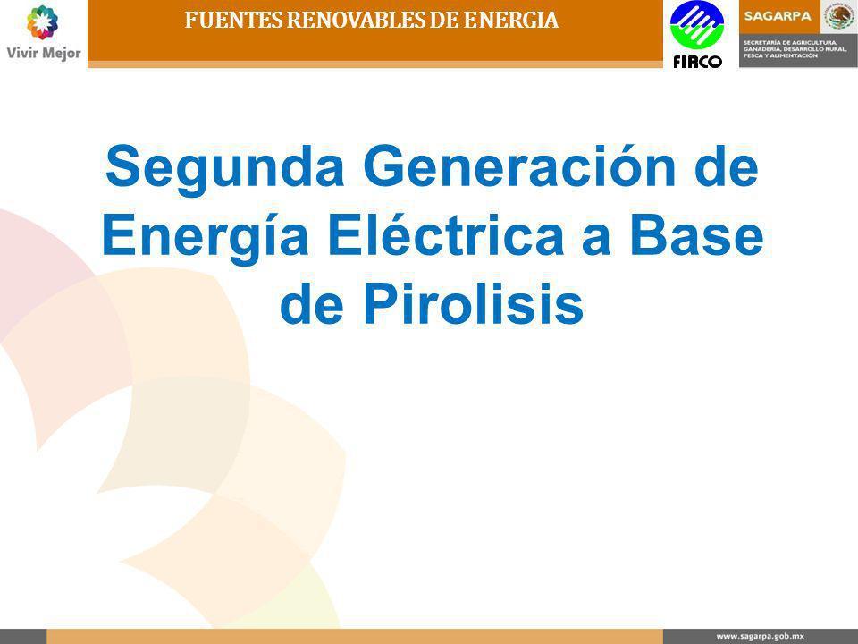 Segunda Generación de Energía Eléctrica a Base de Pirolisis