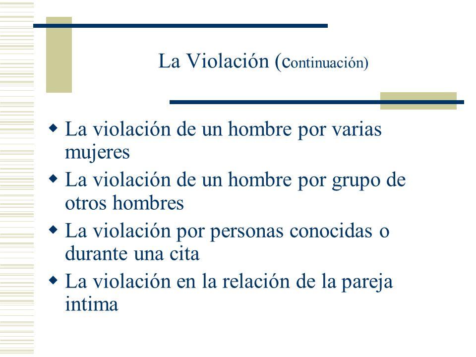 La Violación (continuación)