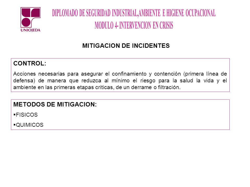 MITIGACION DE INCIDENTES