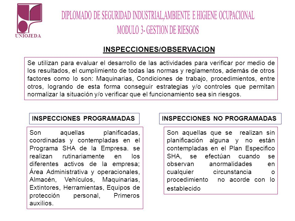INSPECCIONES/OBSERVACION