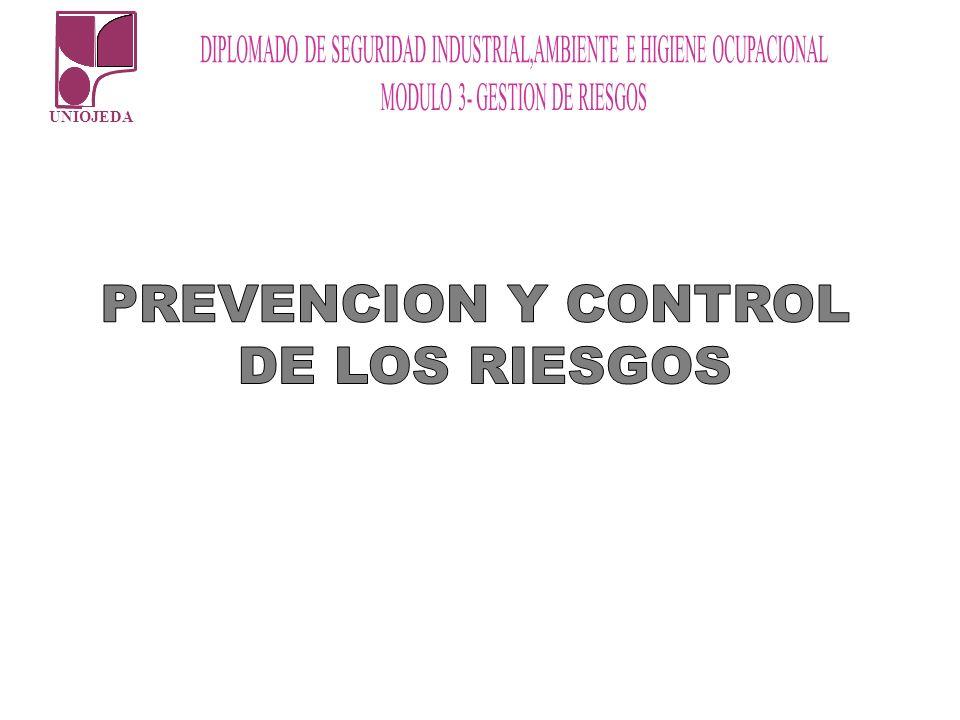 PREVENCION Y CONTROL DE LOS RIESGOS