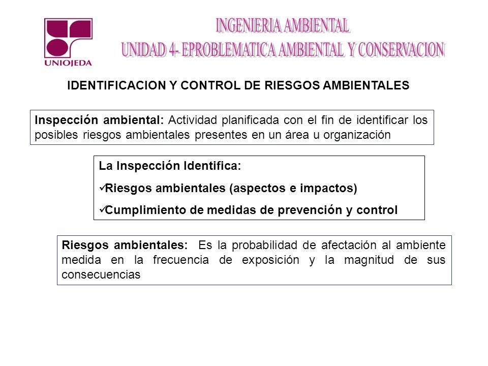 IDENTIFICACION Y CONTROL DE RIESGOS AMBIENTALES