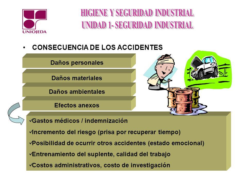 CONSECUENCIA DE LOS ACCIDENTES