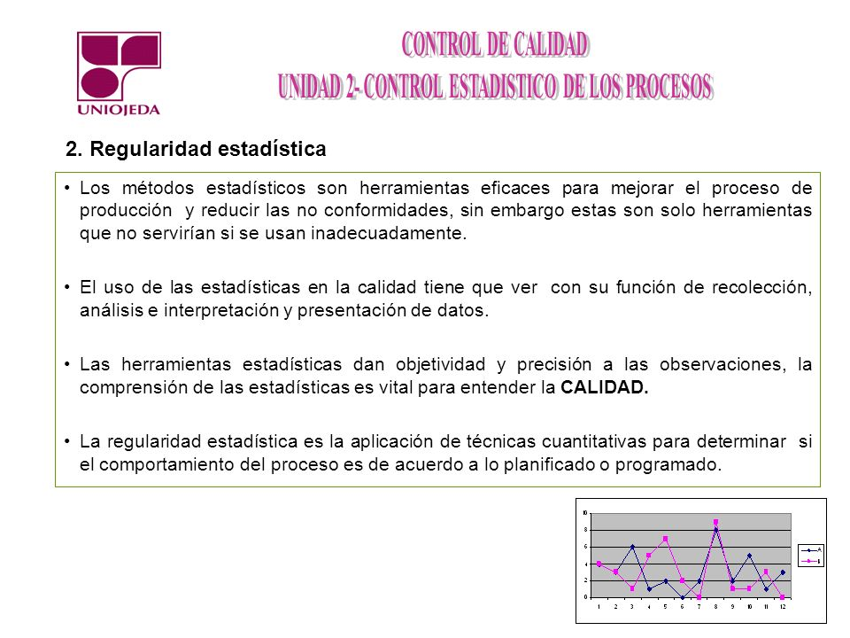 2. Regularidad estadística