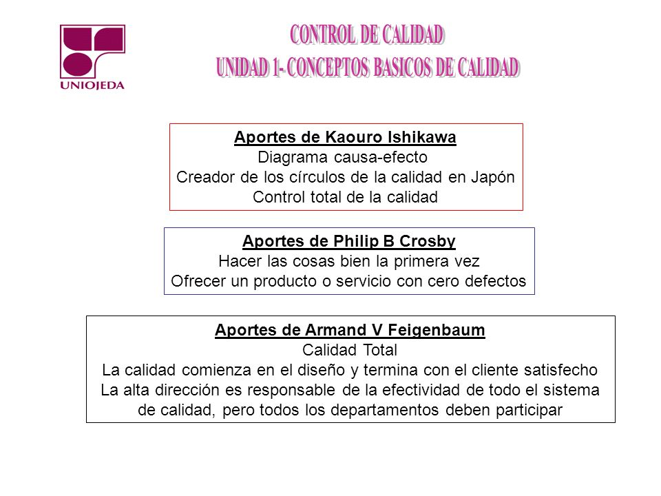 Aportes de Kaouro Ishikawa Diagrama causa-efecto