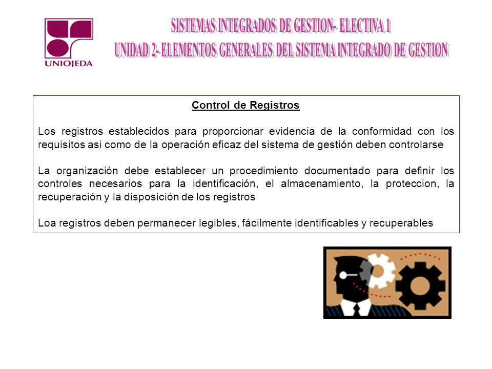 Control de Registros