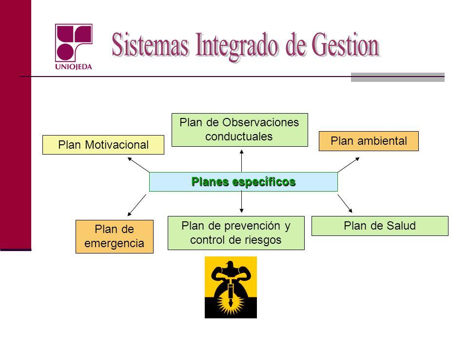 Plan de Observaciones conductuales