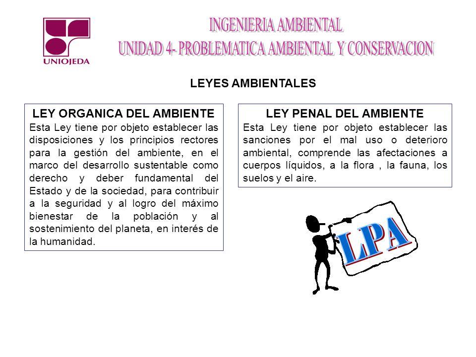 LEY ORGANICA DEL AMBIENTE
