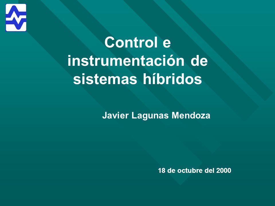 Control e instrumentación de sistemas híbridos Javier Lagunas Mendoza