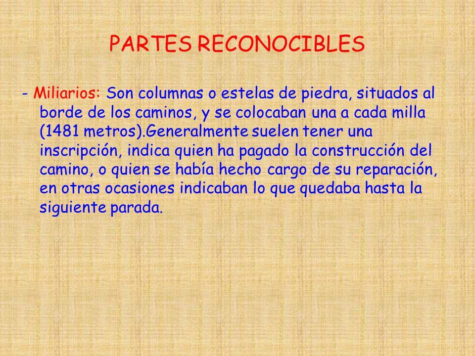 PARTES RECONOCIBLES