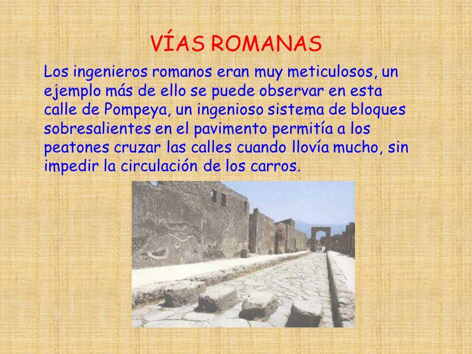 VÍAS ROMANAS