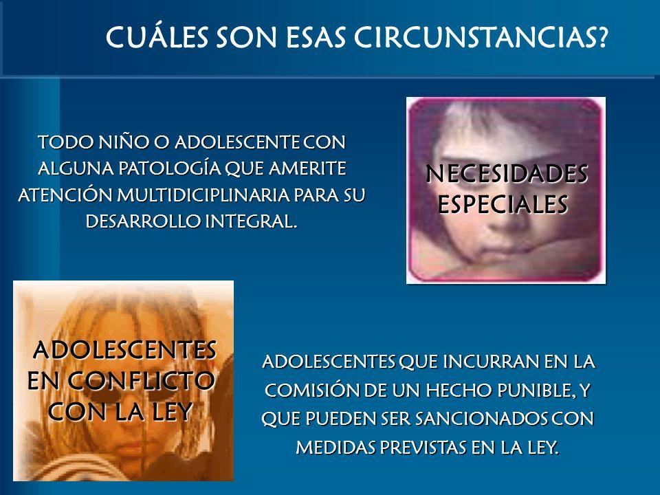 CUÁLES SON ESAS CIRCUNSTANCIAS