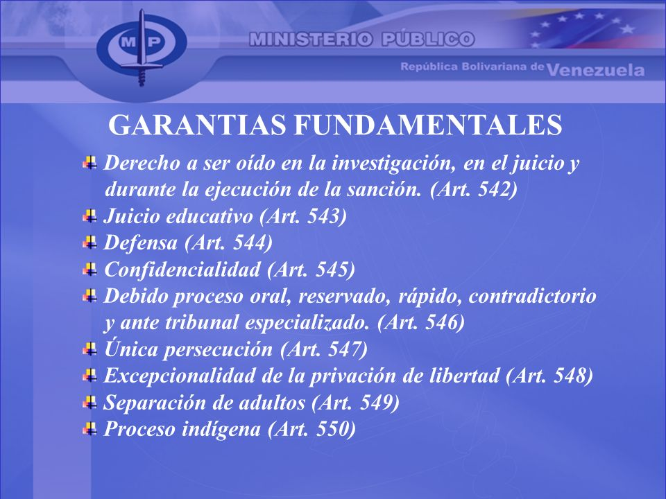 GARANTIAS FUNDAMENTALES