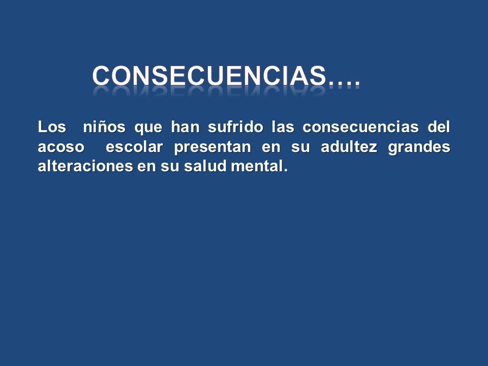 Consecuencias….
