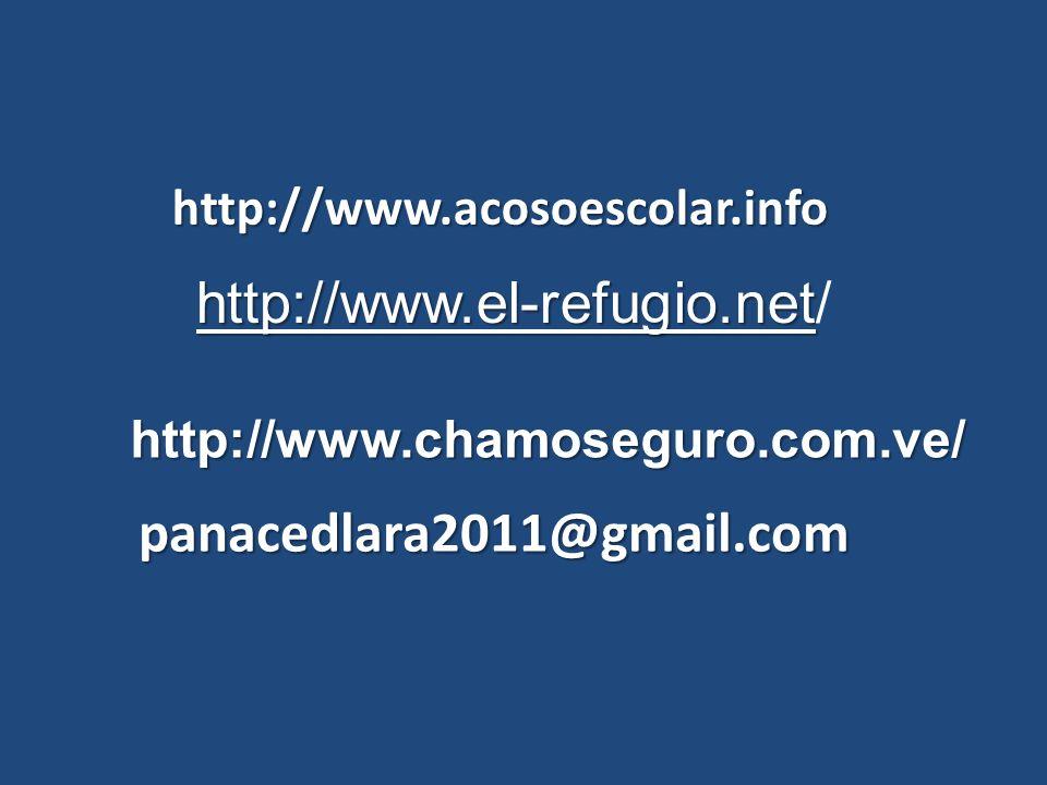 http://www.el-refugio.net/ panacedlara2011@gmail.com