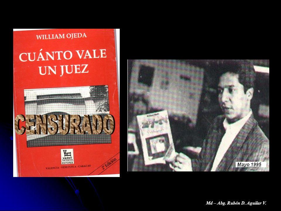 Md – Abg. Rubén D. Aguilar V.