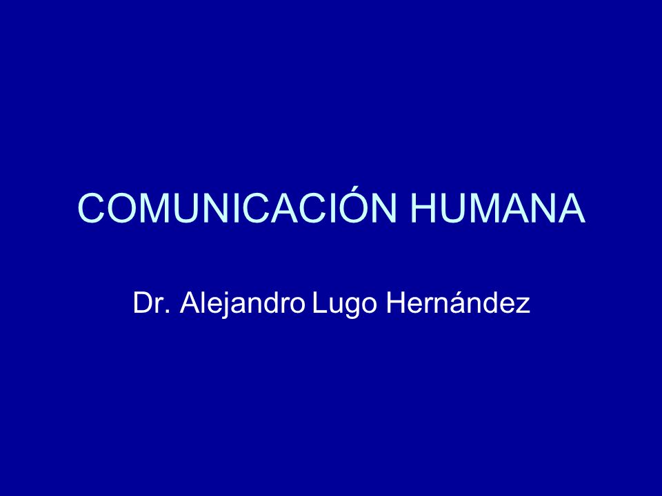 Dr. Alejandro Lugo Hernández