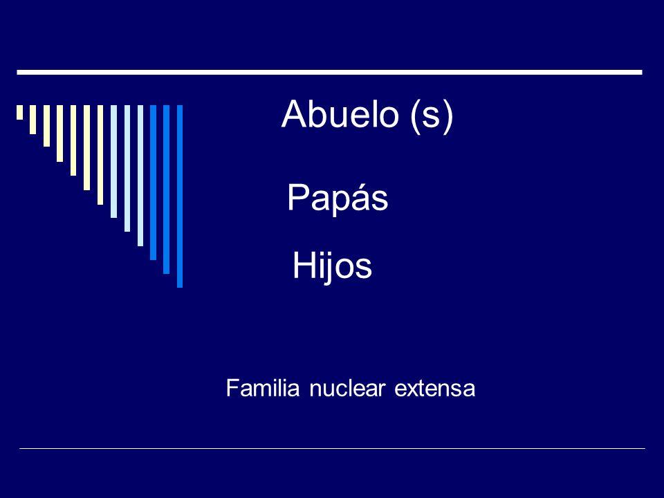 Familia nuclear extensa
