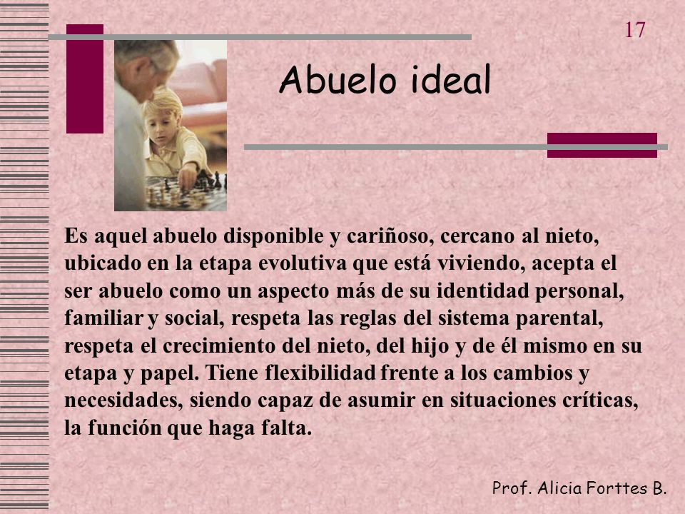 17 Abuelo ideal.