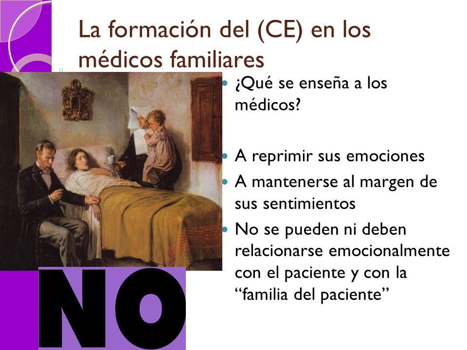 La formación del (CE) en los médicos familiares
