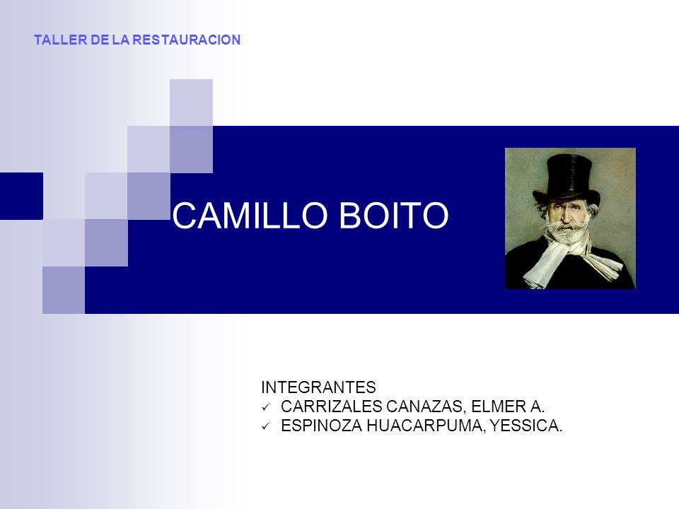 INTEGRANTES CARRIZALES CANAZAS, ELMER A. ESPINOZA HUACARPUMA, YESSICA.
