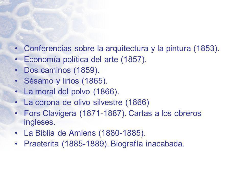 Conferencias sobre la arquitectura y la pintura (1853).