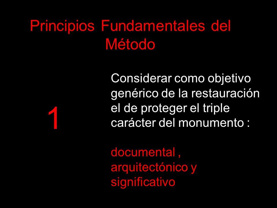 Principios Fundamentales del Método