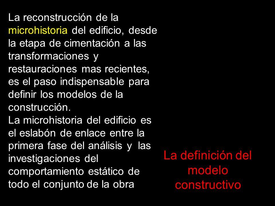 La definición del modelo constructivo