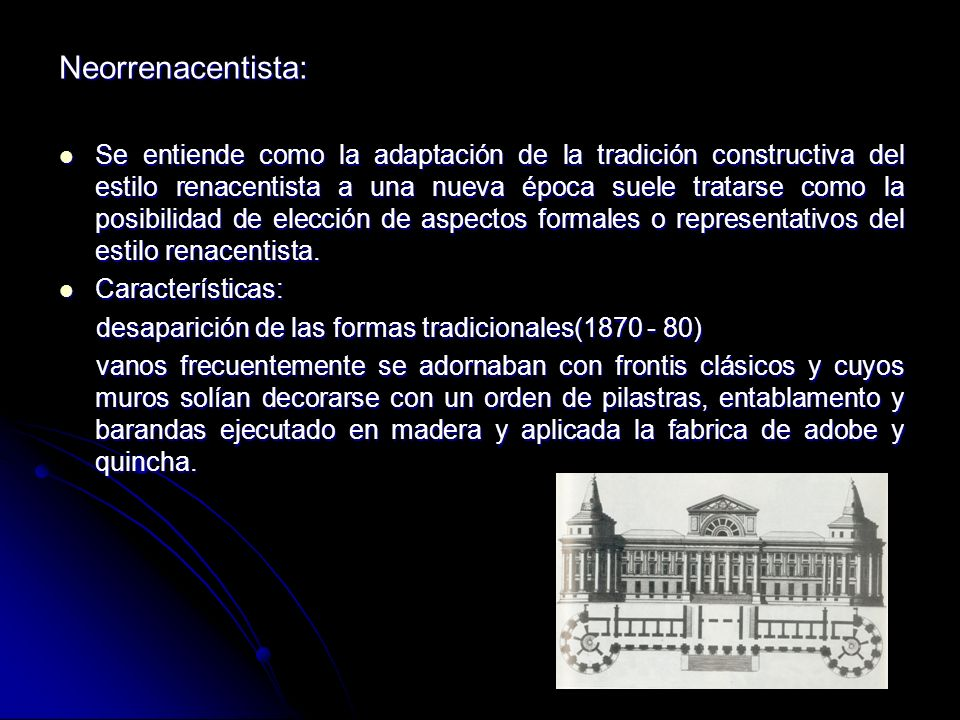 Neorrenacentista: