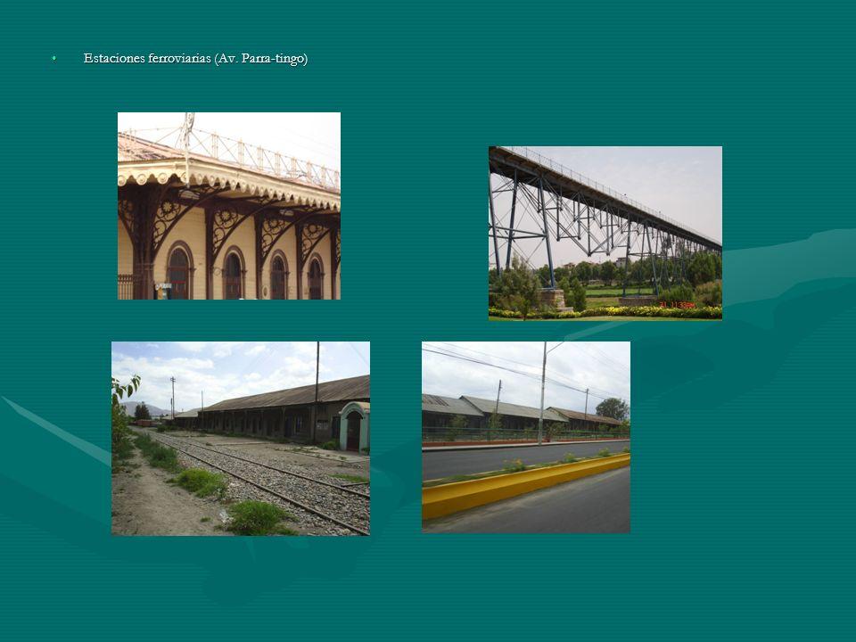 Estaciones ferroviarias (Av. Parra-tingo)