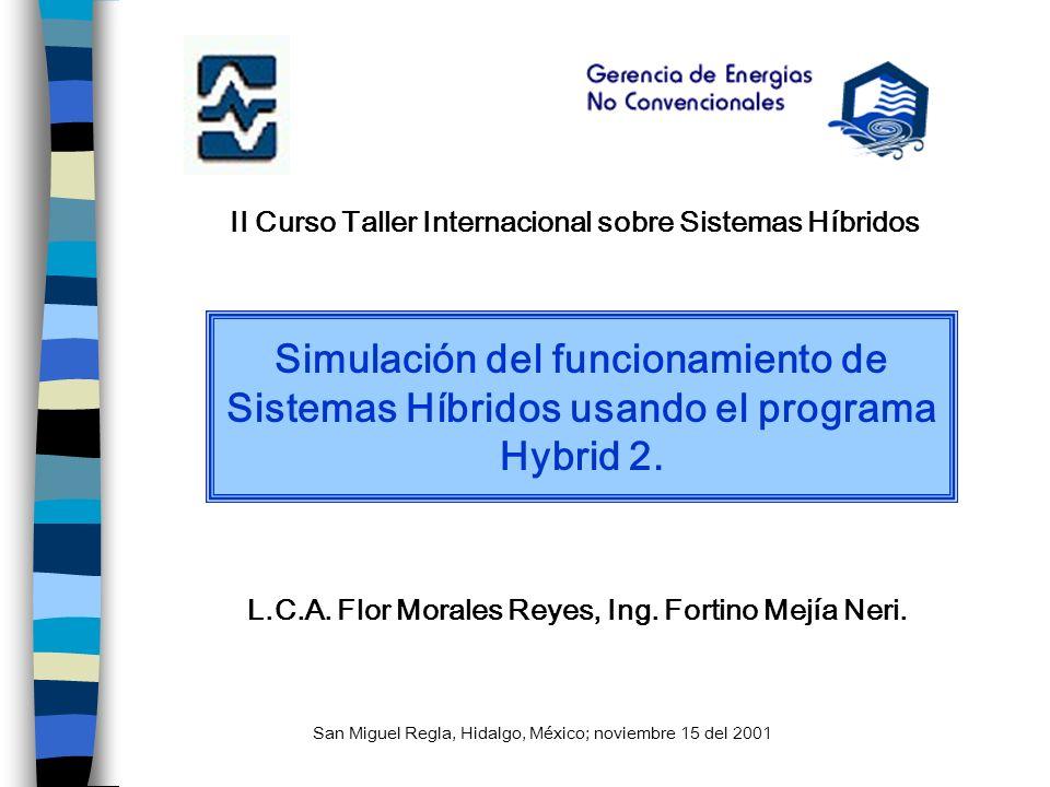 II Curso Taller Internacional sobre Sistemas Híbridos