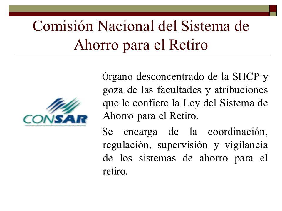 Comisión Nacional del Sistema de Ahorro para el Retiro