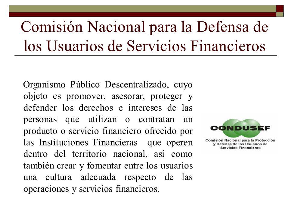 Comisión Nacional para la Defensa de los Usuarios de Servicios Financieros