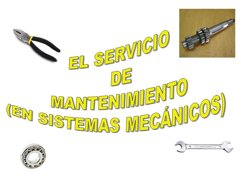 (EN SISTEMAS MECÁNICOS)