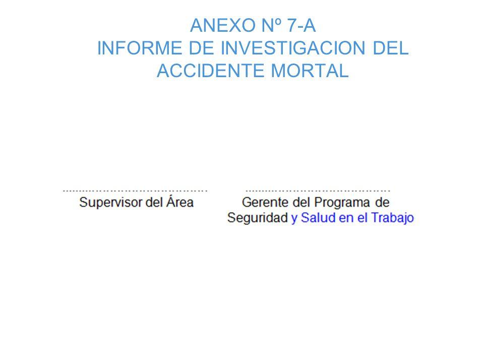 ANEXO N° 5: Analisis de los Accidentes Incapacitantes según Clasificacion