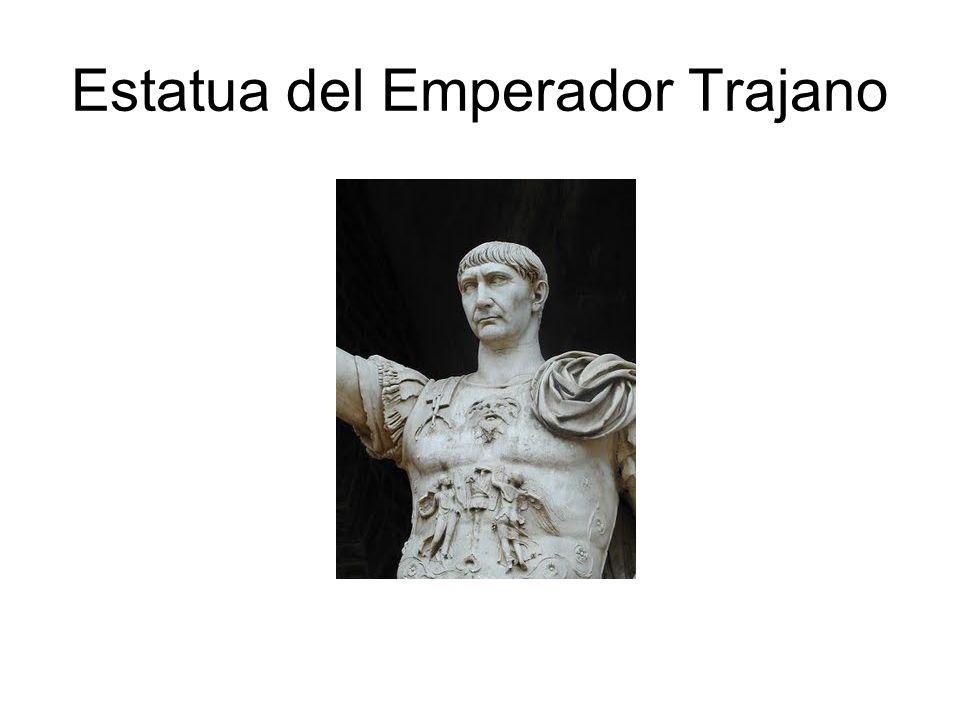Estatua del Emperador Trajano