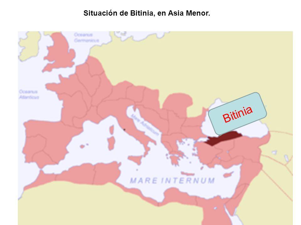 Situación de Bitinia, en Asia Menor.