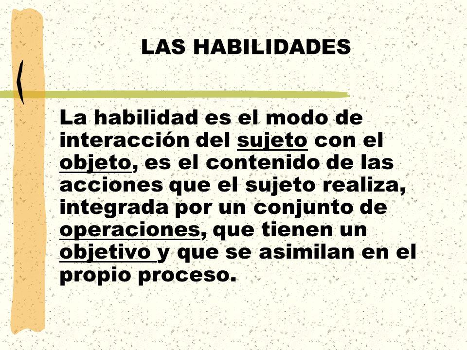 LAS HABILIDADES
