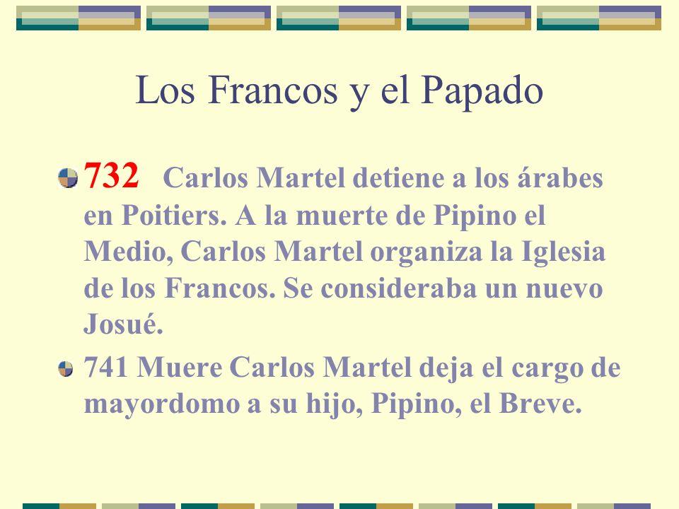Los Francos y el Papado