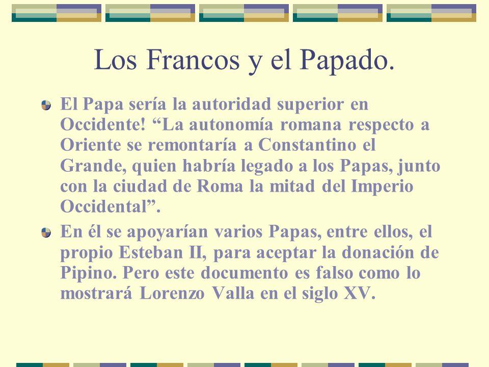 Los Francos y el Papado.
