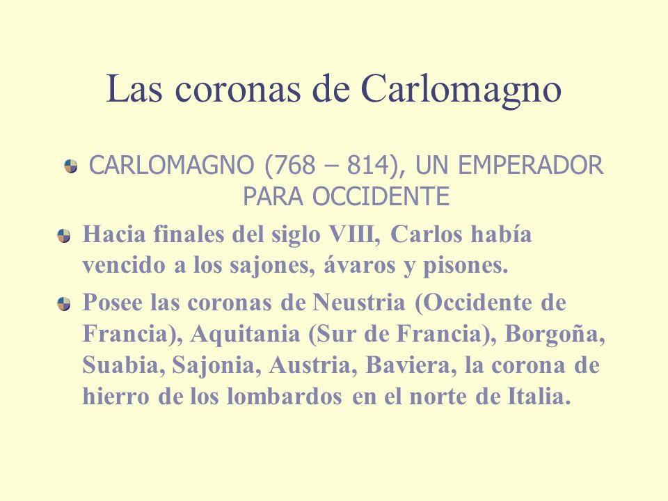 Las coronas de Carlomagno