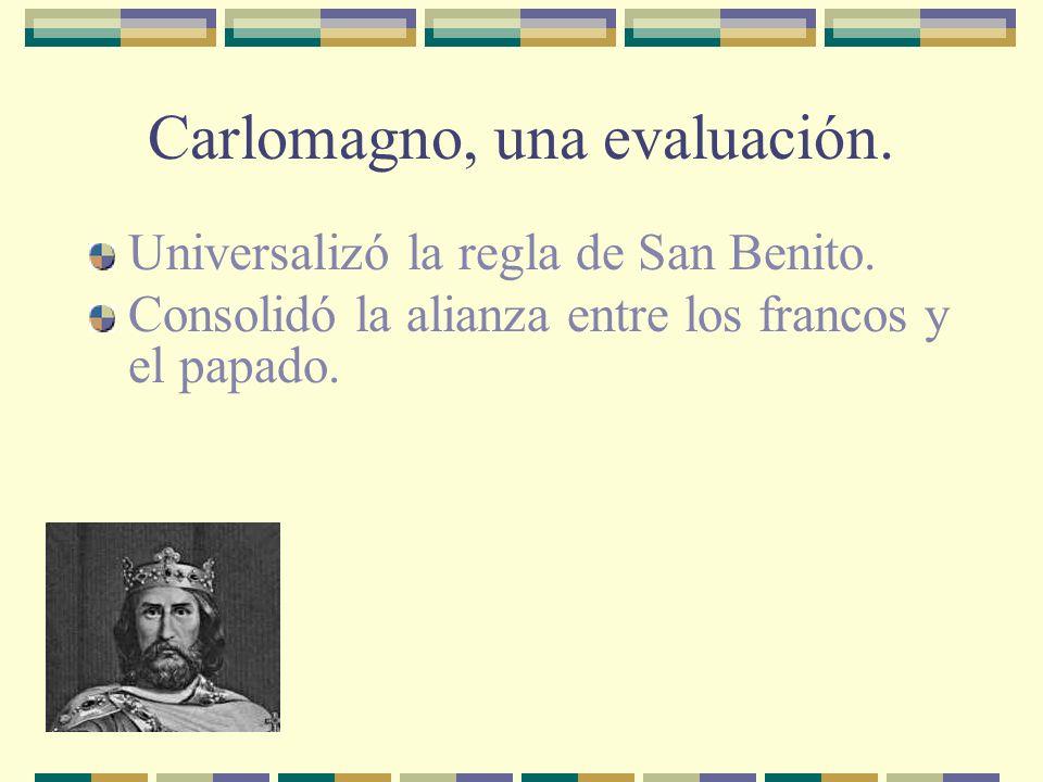 Carlomagno, una evaluación.