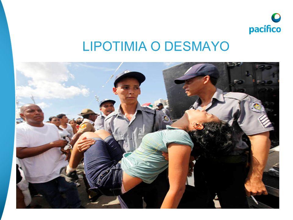 LIPOTIMIA O DESMAYO