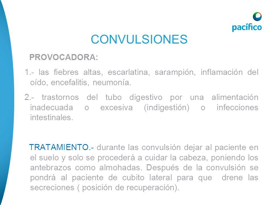 CONVULSIONES PROVOCADORA: