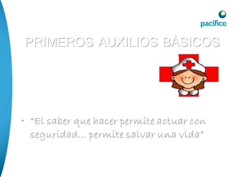 PRIMEROS AUXILIOS BÀSICOS