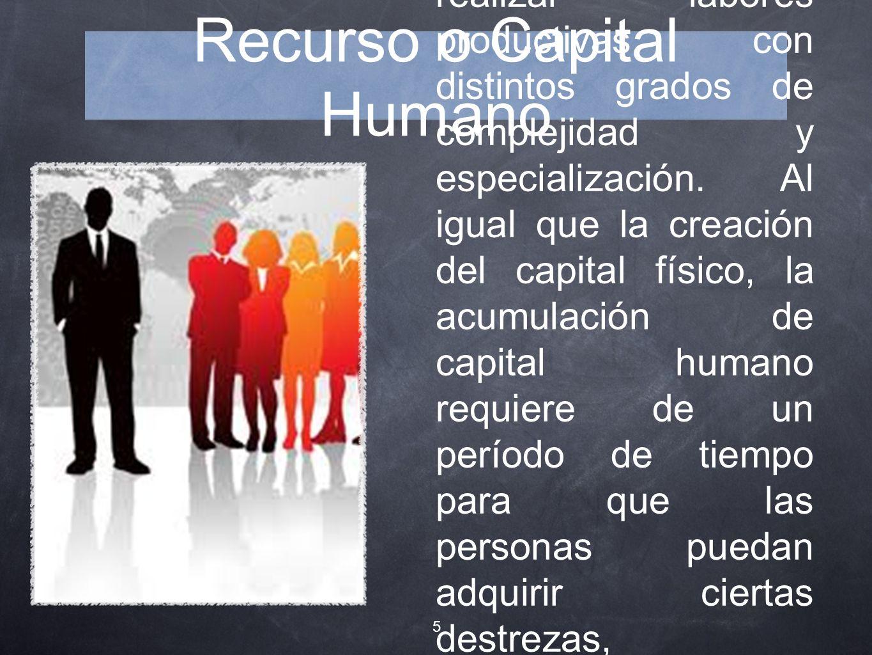 Recurso o Capital Humano